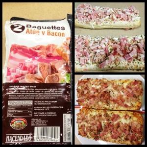 Baguettes de Mercadona