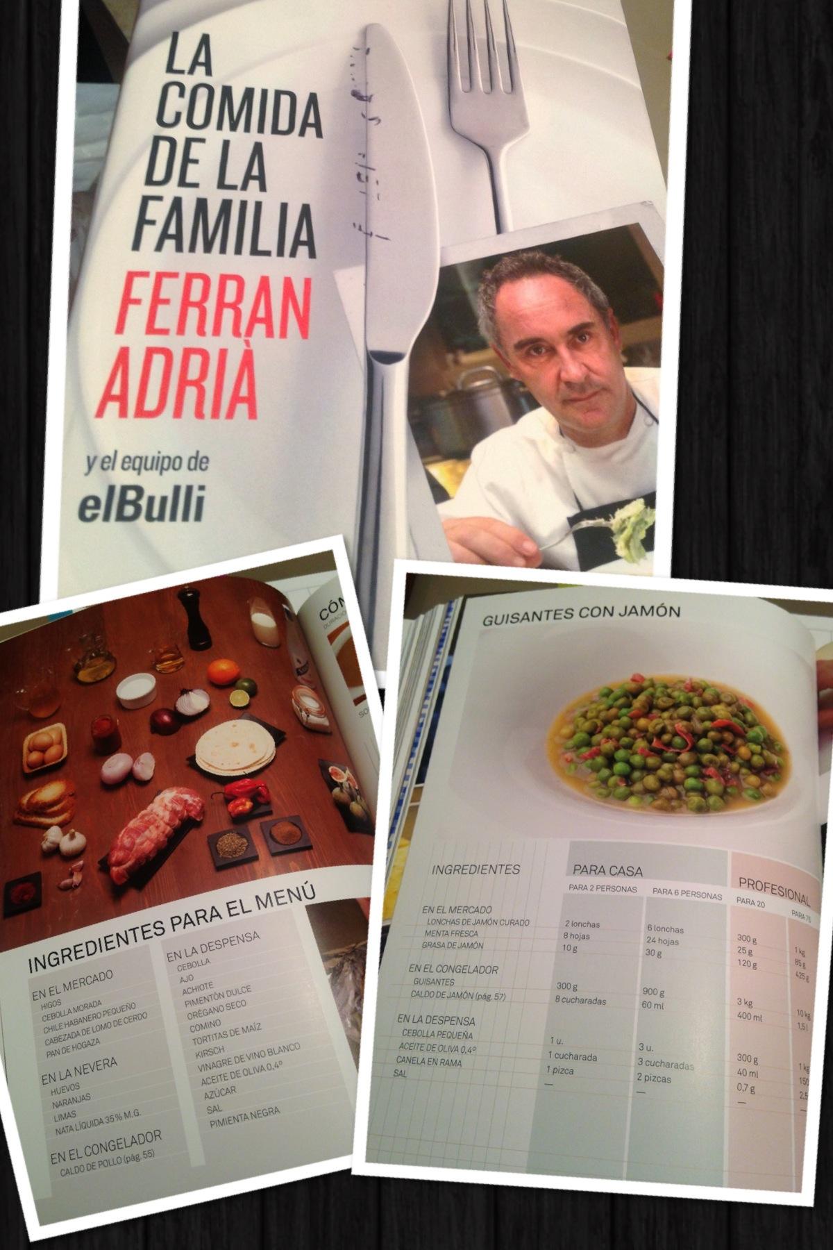 Libro la cocina de la familia de ferr n adri la for Ferran adria comida